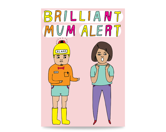 A greeting card to give Your Mum. Card for Mum