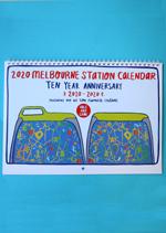 2020 Melbourne Station Calendar