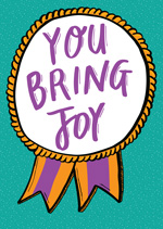 You Bring Joy Ribbon