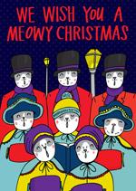 We Wish You A Meowy Christmas