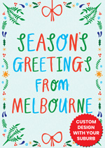 Seasons Greetings From ...  [Custom Suburb]
